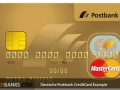 Deutsche Postbank Credit Card Example